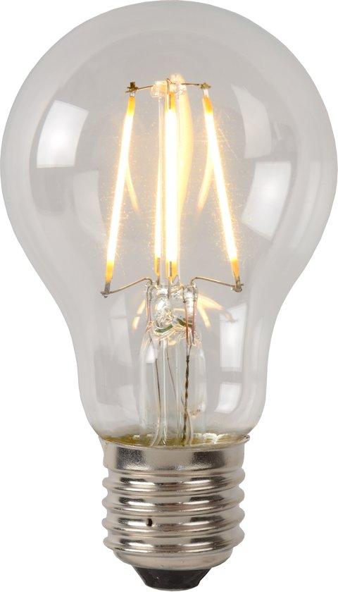 Lucide LED BULB - Filament lamp - Ø 6 cm - LED Dimb. - 1x5W 2700K - Transparant