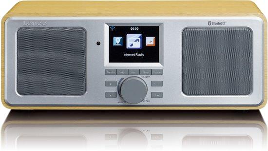 Lenco DIR-150 - Internetradio - Hout