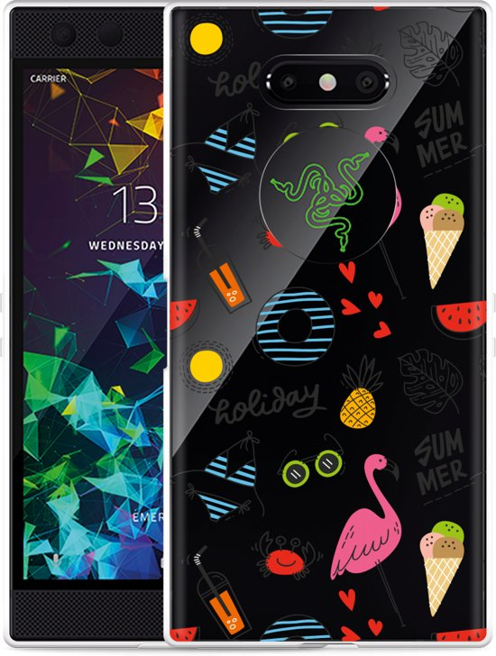 Razer Phone 2 Hoesje Summer Flamingo