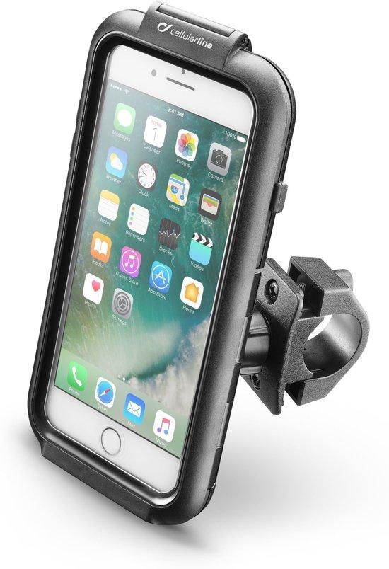 Interphone - iPhone 7 Plus / 8 Plus iCase Houder Stevige Motorhouder Stuur