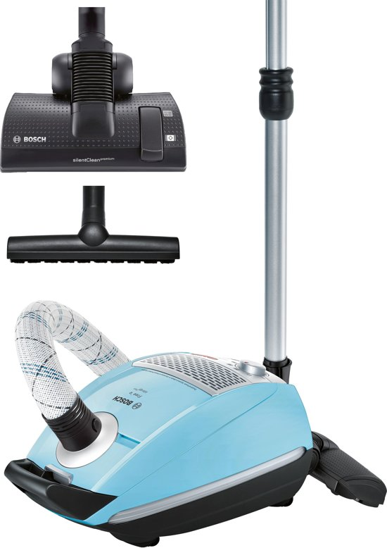 Bosch Free'e BSGL5409 - Stofzuiger met zak - Blauw