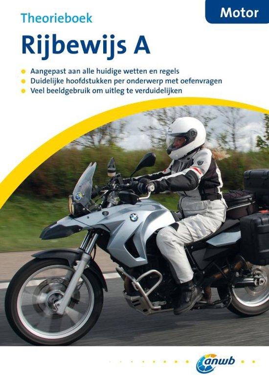ANWB rijopleiding - Theorieboek Rijbewijs A - Motorfiets