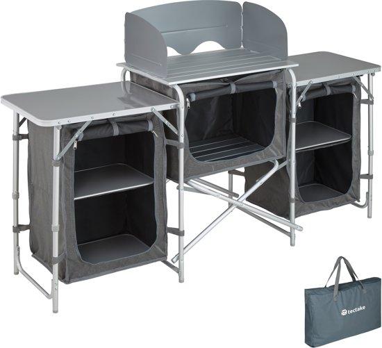 TecTake - campingkeuken 164,5x52x104cm