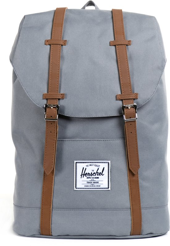 bol | herschel supply co. dames rugtassen retreat - grijs