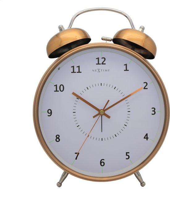 NeXtime Wake Up Alarmklok 30 x 30 cm