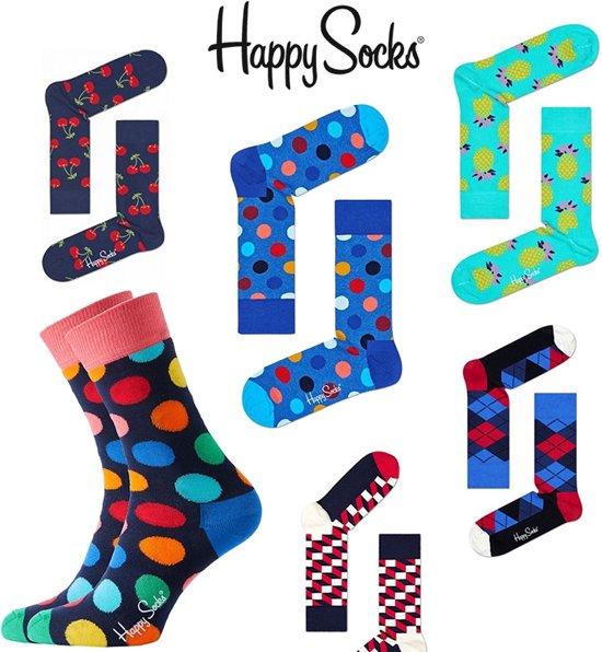427021af886 bol.com | Happy Socks Verrasingspakket Sokken - 6-pack - Multi ...
