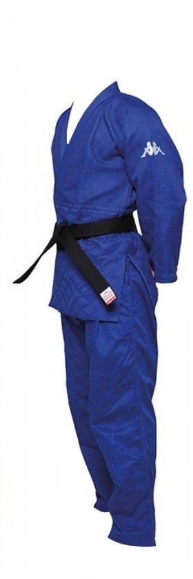 Kappa Judopak Judogi Atlanta Ijf Unisex Blauw Maat 195