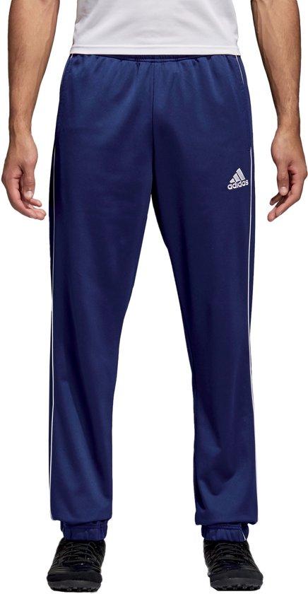 Adidas Core 18 Sportbroek Heren Dark BlueWhite Maat XL