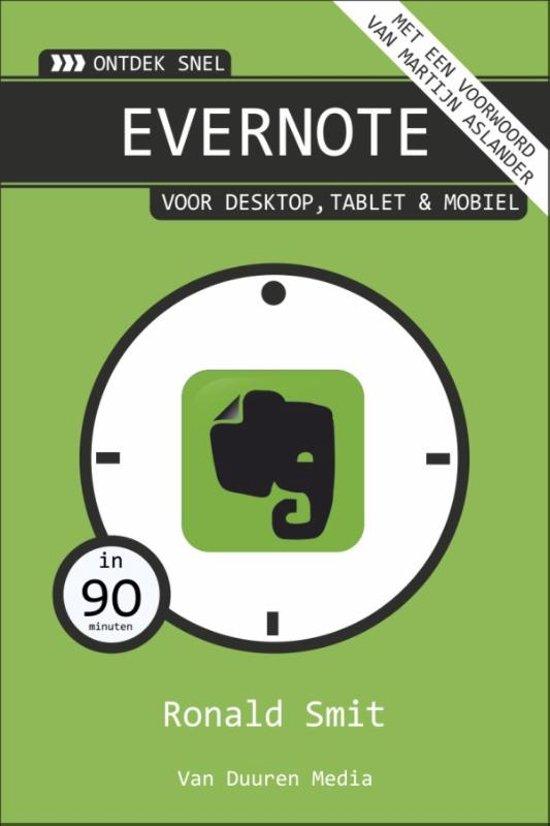 Van Duuren Media Ontdek snel Evernote 128pagina Nederlands softwareboek handleiding