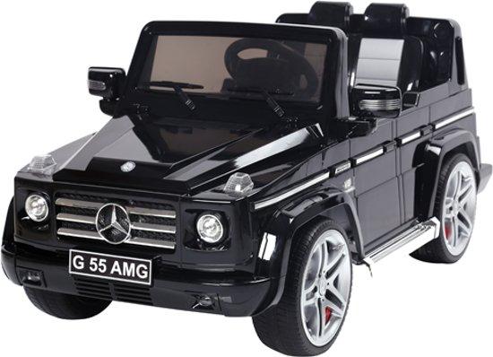 Bol Com Elektrische Kinder Accu Auto Mercedes Benz G55 Zwart Met