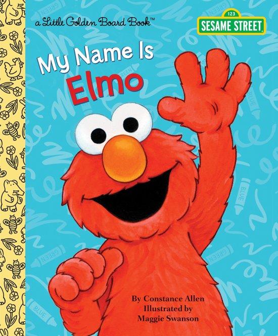 Boek cover LGB My Name Is Elmo (Sesame Street) van Constance Allen (Hardcover)