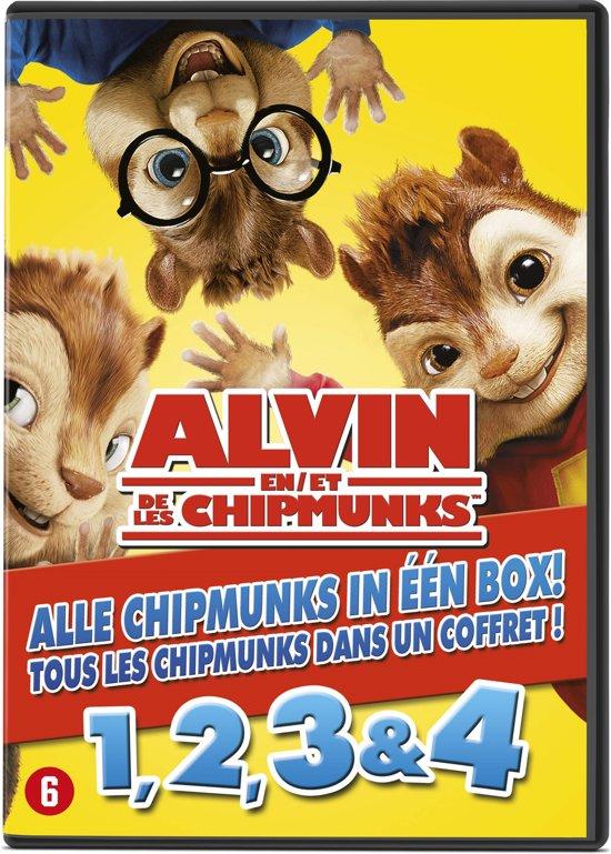 Alvin And The Chipmunks 1 t/m 4  Box Set