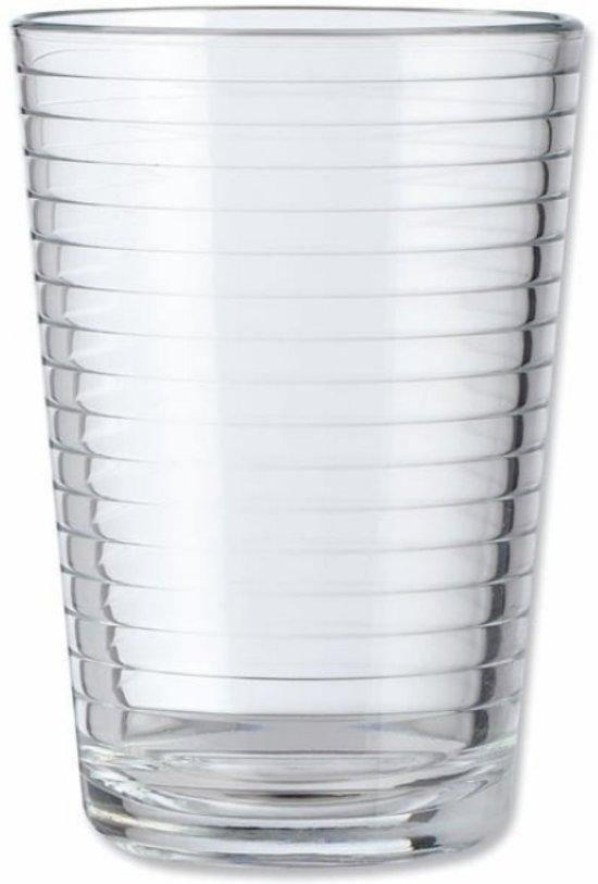 Drinkglazen - 6 stuks - 24cl - 240 ml - Glas - Drinkglas - Glazenset