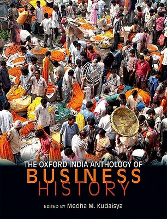 The Oxford India Anthology of Business History