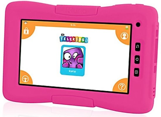 Roze Kinder Tablet.Kurio Kinder Tablet 7 Inch Telekids Roze