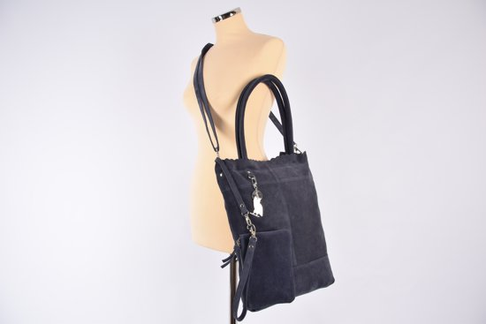 Suéde Akko Shopper Navy Akko Suéde Navy 4east Shopper 4east Suéde R5L4Aj3
