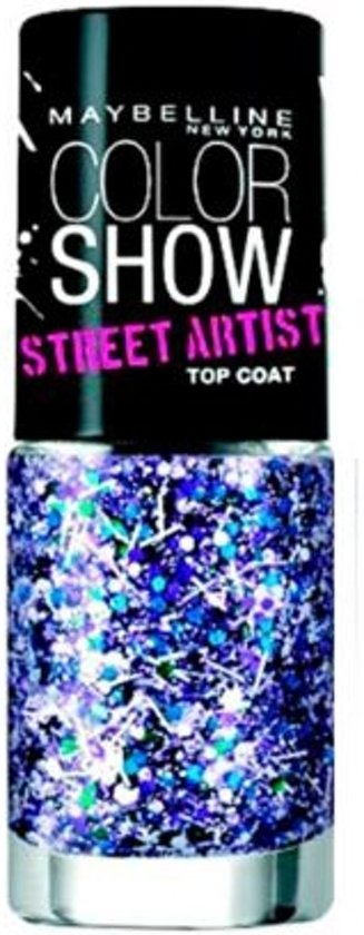 Maybelline Color Show Street Artist - 2 White Splatter - Topcoat