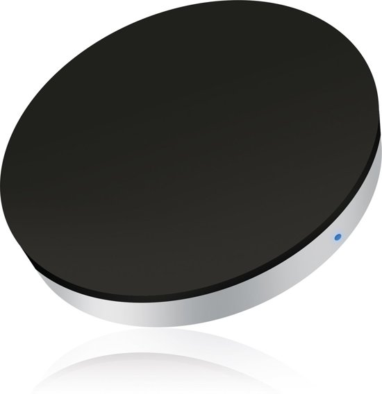 ZENS Single Wireless Charger rond - Wit