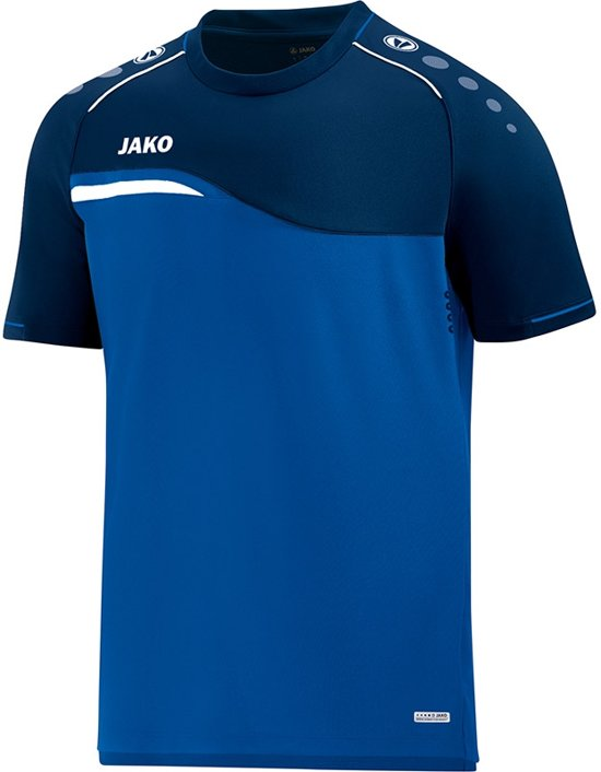 Jako Competition 2.0 T-Shirt - Voetbalshirts  - blauw kobalt - M