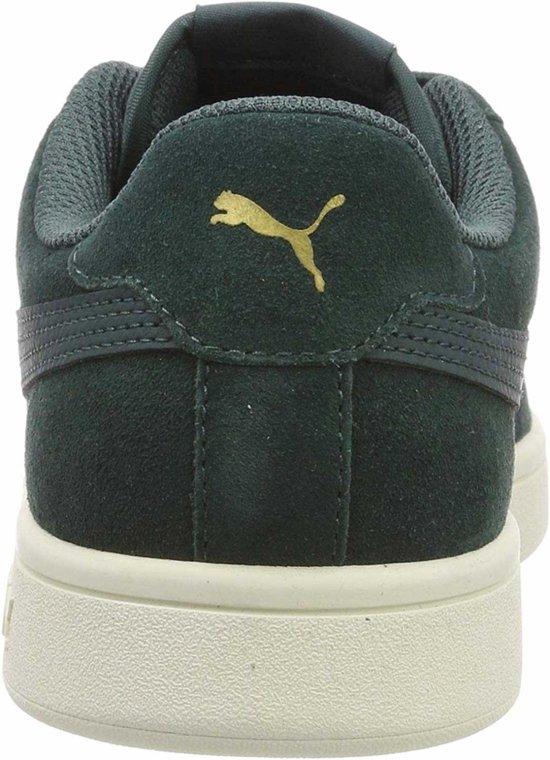 Gold White Whisper Pine Puma Ponderosa Smash Maat Team V2 Sneakers 43 Unisex SA0zwZ