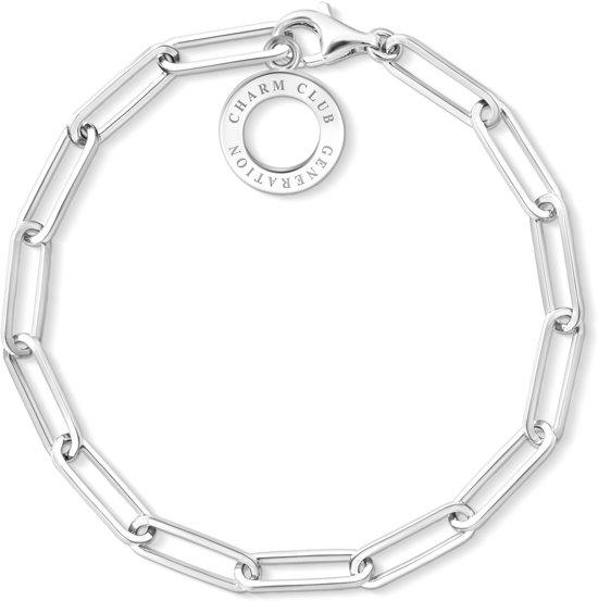 Thomas Sabo Charm Club 925 Sterling Zilveren Armband X0259-001-21-L15