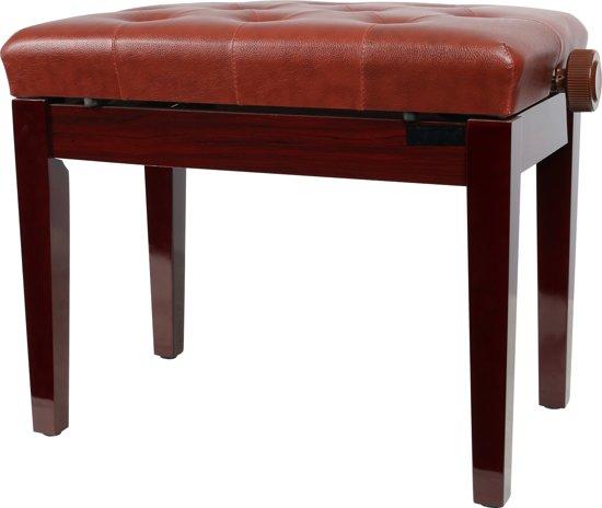 Innox PB 10RB pianobank rood / bruin