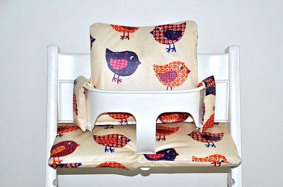 Bol gecoate kussens voor de stokke tripp trapp retro birds