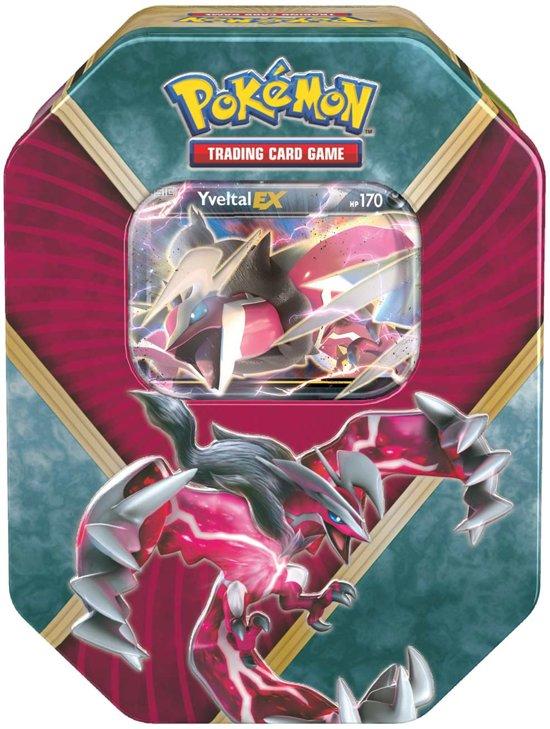 Afbeelding van het spel Pokemon kaarten Shiny Kalos Tin: Yveltal
