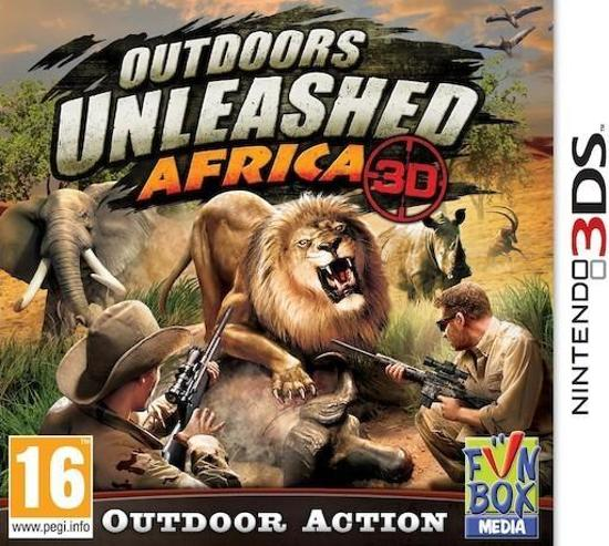 Outdoors Unleashed, Africa 3D - 2DS + 3DS kopen