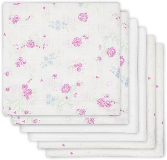 c0bfd69ae89 bol.com | Jollein Blooming - Hydrofiel Luier - Roze (6-pack)