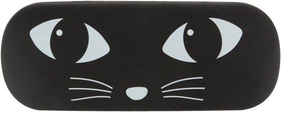 Brillenkoker kat zwart