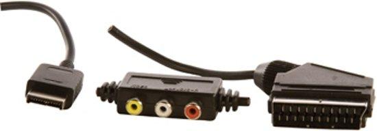 Konig Scart Aansluitkabel AV-aansluiting 1,8 Meter PS2