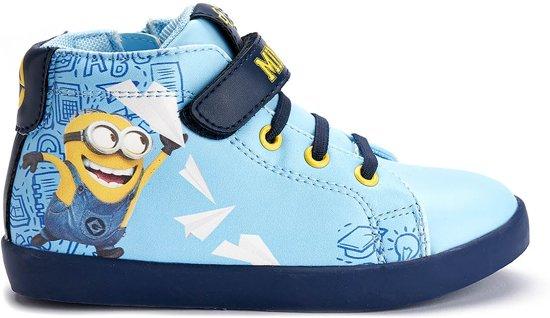 Minions-Sneaker-high-blauw