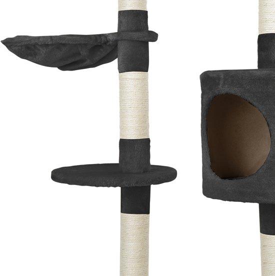 Krabpaal - krabmeubels - krabspeelgoed - 65x35x130cm-Grijs