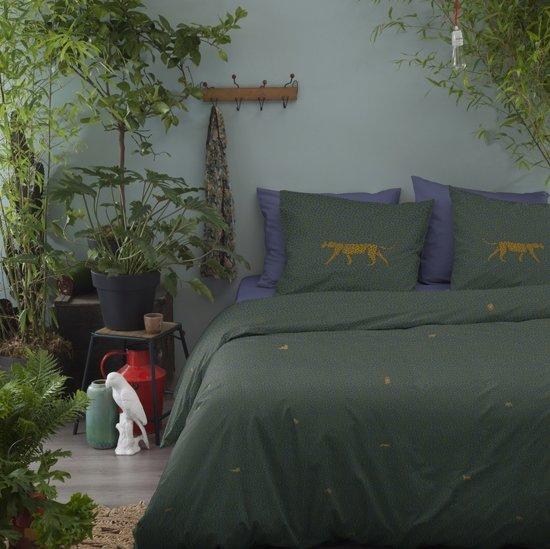 Cinderella Dekbedovertrekset katoen 240 x 200/220 cm cali green
