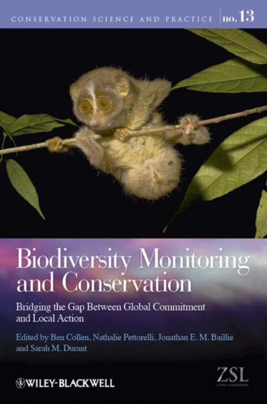 Afbeelding van Biodiversity Monitoring and Conservation