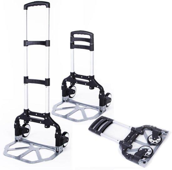 Steekwagen opvouwbaar - steekkar/transportwagen/transportkar capaciteit 80kg
