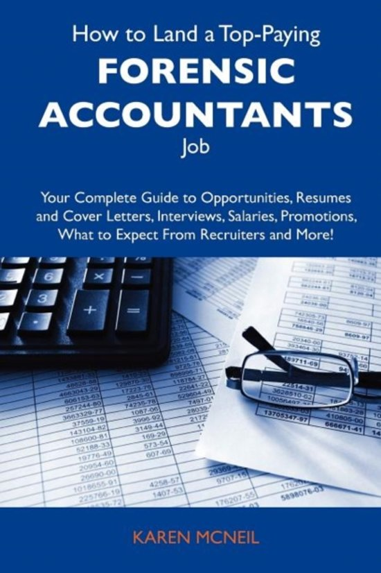 How to Land a Top-Paying Forensic Accountants Job