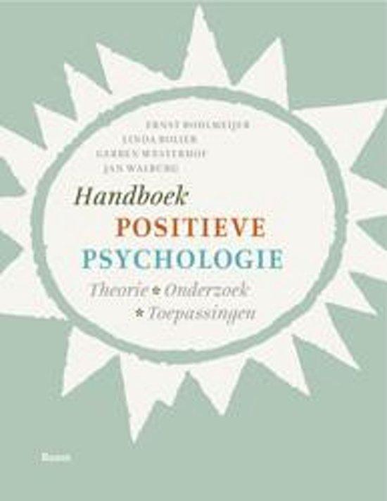 Handboek positieve psychologie