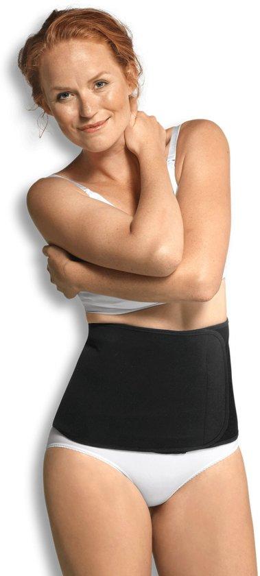 Carriwell Belly Binder - Sluitlaken - Zwart - Maat S/M