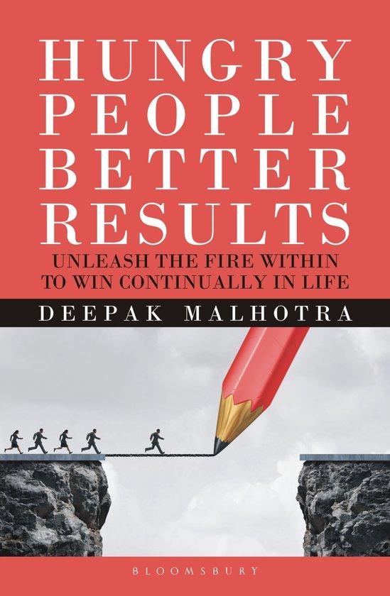 Boek cover Hungry People Better Results van Dr Deepak Malhotra (Onbekend)