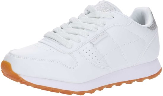 Dames Og Sneakers School Old Wit Skechers 85 Cool 1Cqaxg0w