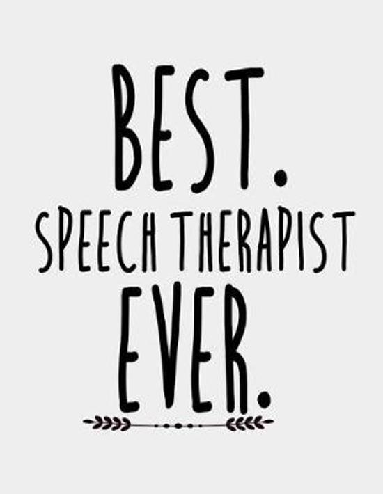 Best Speech Therapist Ever