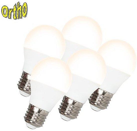OrthoE27 5 5d 5 Stuks LED Lampen Van 5 Watt Daglicht (vergelijkbaar Met