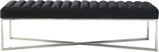 Riviera Maison - Thompson  Bench - Midnight Grey