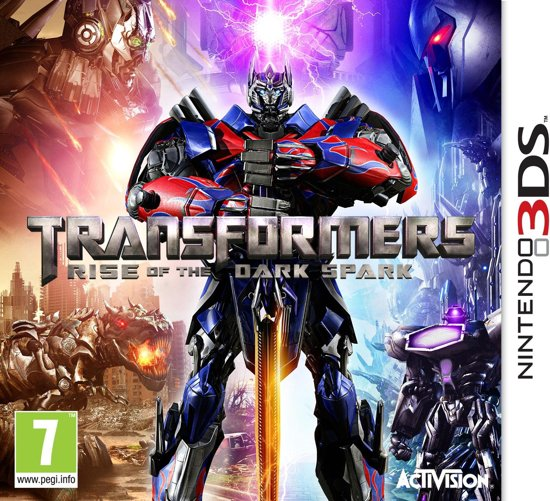 Transformers: Rise Of The Dark Spark - 2DS + 3DS kopen