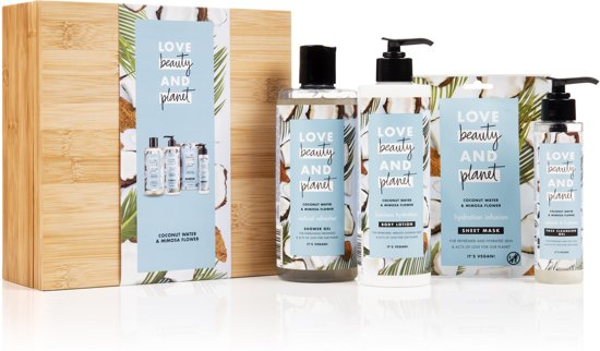 Love Beauty and Planet Luxe Geschenkset Coconut Water & Mimosa Flower