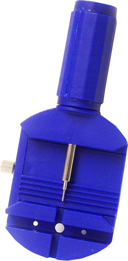 Horloge gereedschap 818200380 - horloge band inkorter - lengte 11,5 cm - Blauw