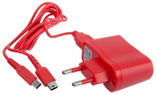Under Control DSL / DSI / DSI XL / 3DS / 3DS XL / 2DS / New 3DS XL Oplader Rood kopen