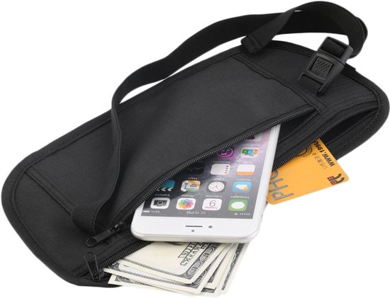Undercover Money Belt heuptasje zwart